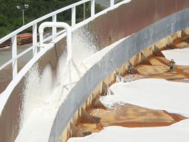 Foam discharge units