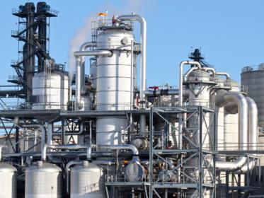 Refinery process plant