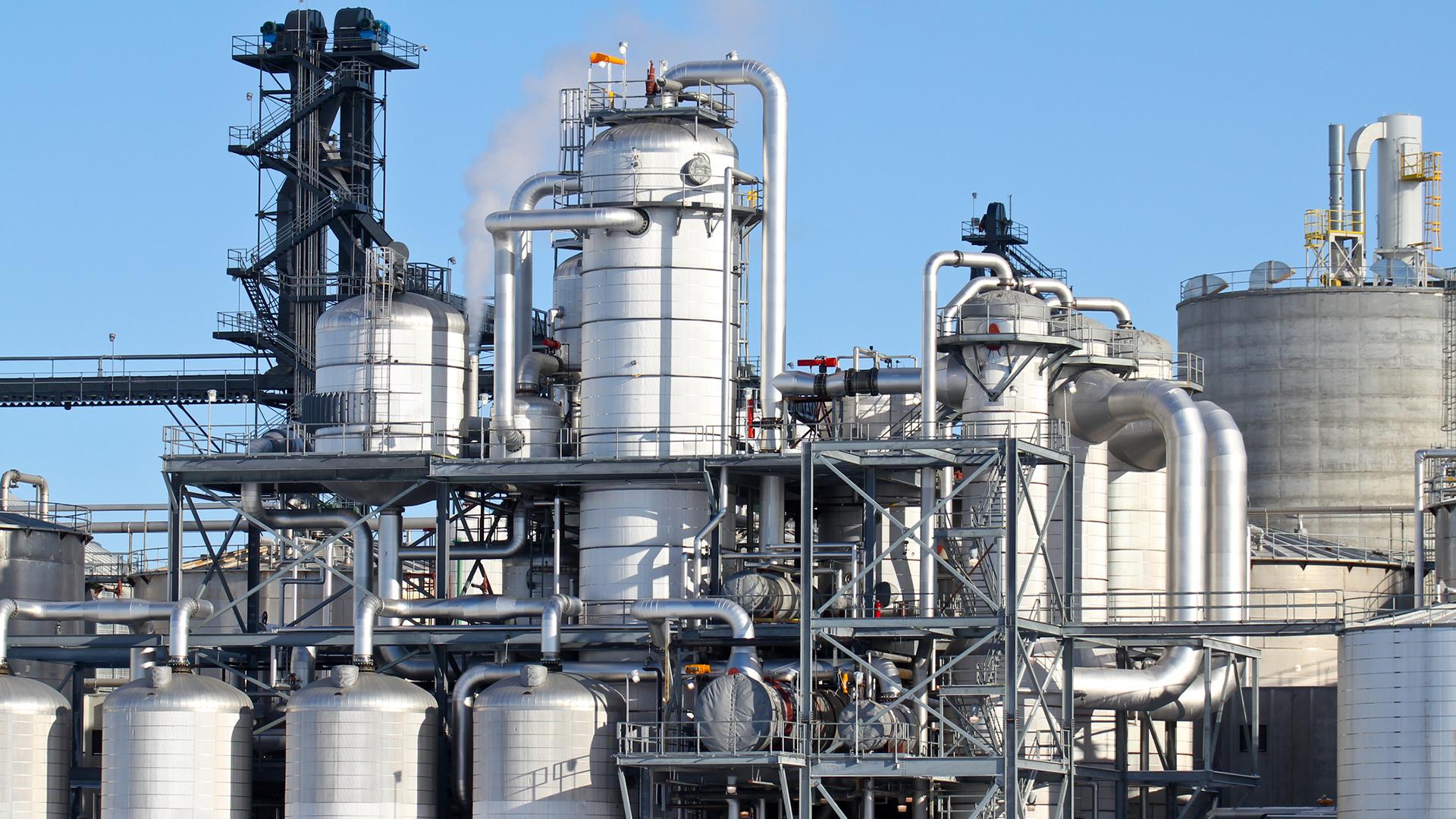 Refinery process plant 1