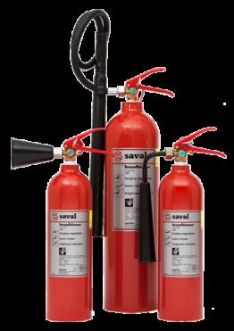 CO2 extinguisher