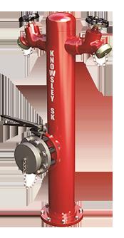 Wet Barrel Pillar Hydrant