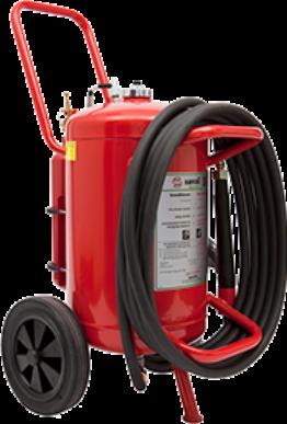 Wheeled AFFF foam extinguisher