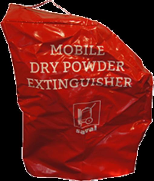 Wheeled extinguisher cover