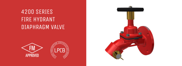 4200 Fire Hydrant Diaphragm Valve is FM Global and BRE Global LPCB Approved 1