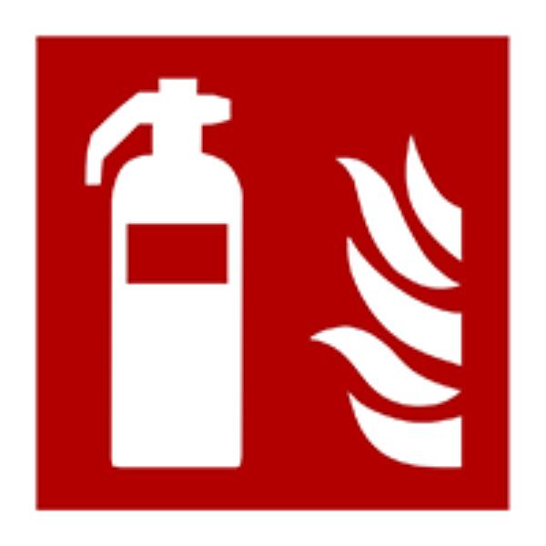 Pictogram fire extinguisher