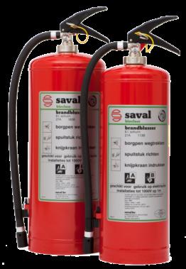 BC foam extinguisher (AB)