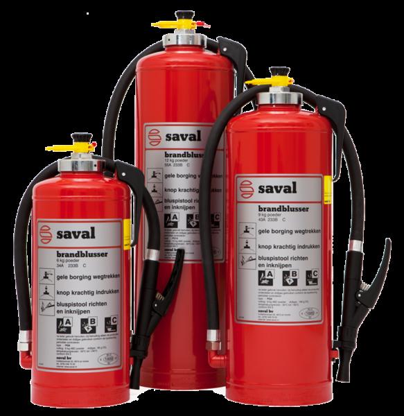 PG powder extinguisher (ABC)