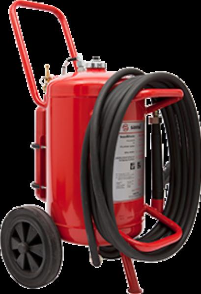 Wheeled PX drypowder extinguisher