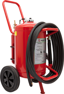 Wheeled AFFF-A foam extinguisher