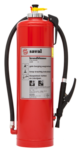 PX powder extinguisher (BC)