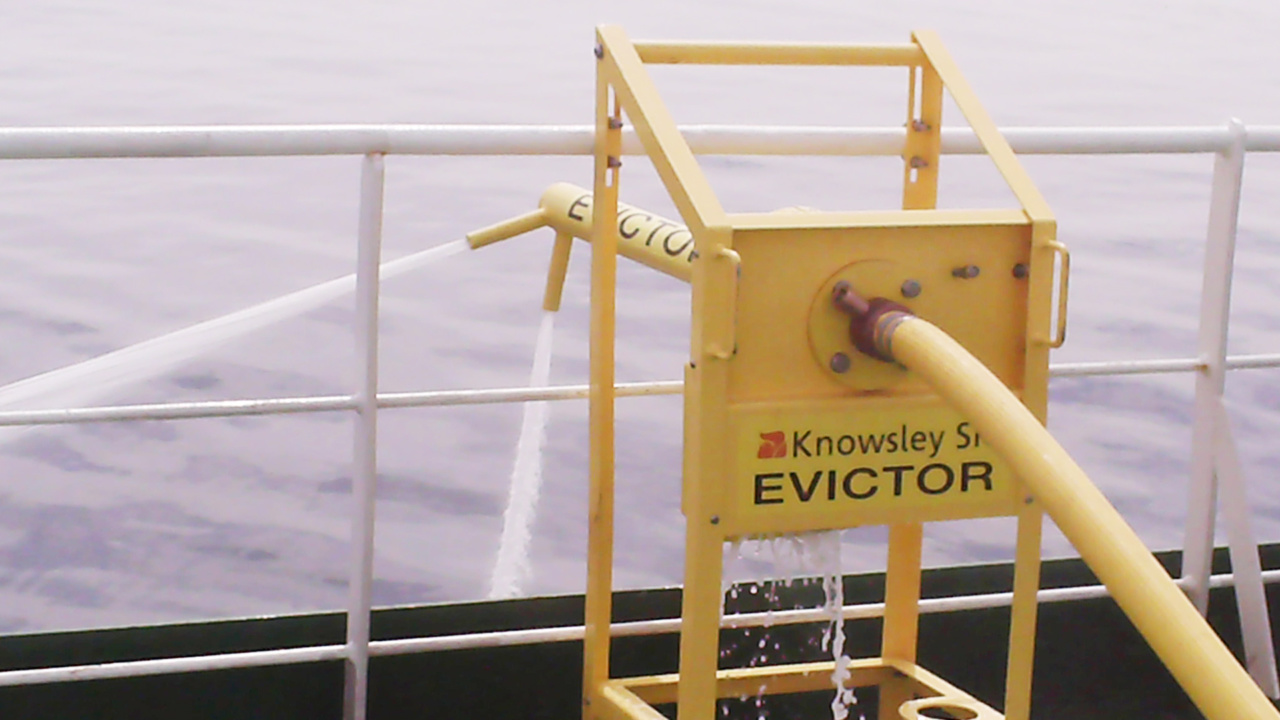 Evictor, Anti-Piracy Water Cannon 7